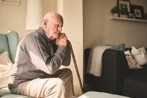 Triste noticia: adultos mayores deprimidos